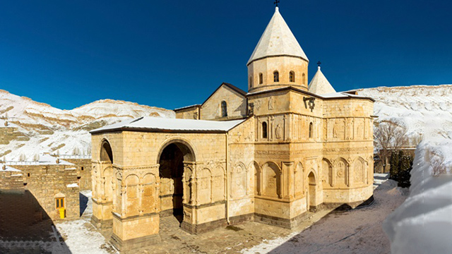 Iran home to 'first church built in the world'