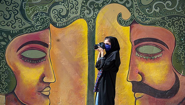 Iran's first street gallery in photos